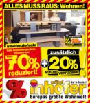 Möbel Inhofer Möbel Inhofer - Alles muss raus Wohnen - bis 21.04.2021