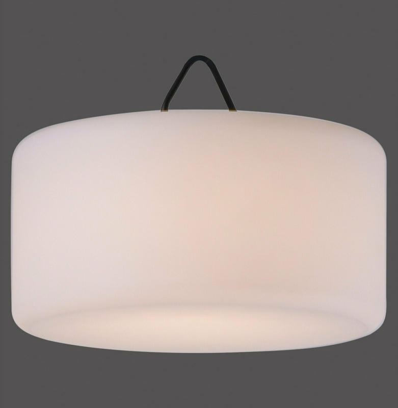 LED-Außen-Pendelleuchte Holly Schwarz  RGB und Warmweiß