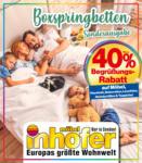 Möbel Inhofer Möbel Inhofer: Sonderbeilage Boxspringbetten - bis 21.04.2021