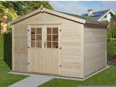 Weka Holz-Gartenhaus Ravenna B Natur BxT: 300 cm x 205 cm