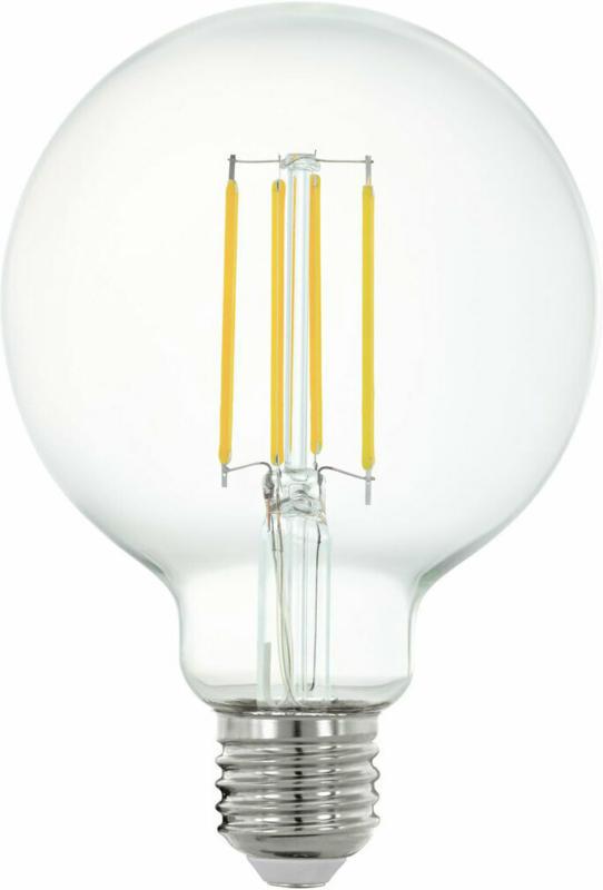 "LED-Leuchtmittel ""Connect"", dimmbar, E27-G95, 5W, klar G95 | klar"