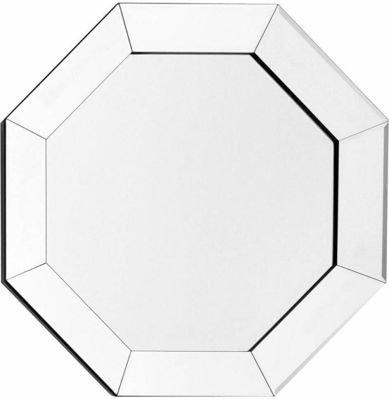 "Wandspiegel ""Kronos 110"", silber"