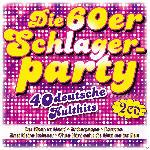 MediaMarkt Various - Die 60er Schlagerparty - 40 deutsche Kulthits [CD]