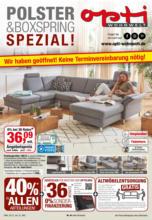 Opti Wohnwelt: Polster & Boxspring Spezial!
