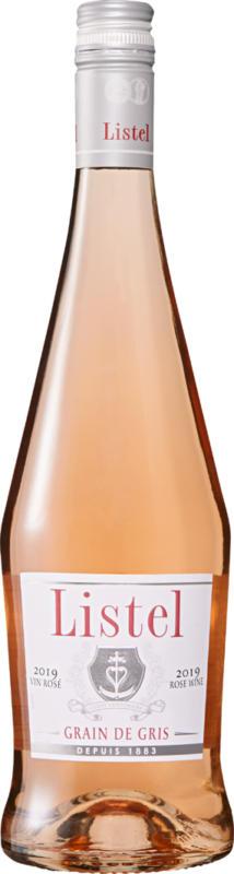 Listel Grain de Gris Rosé Terres du Midi IGP , 2018, Languedoc-Roussillon, Frankreich, 75 cl
