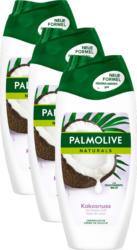 Palmolive Naturals Crèmedusche, Verwöhnende Pflege, mit Kokos, 3 x 250 ml