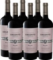 Argento Malbec Reserva, 2020, Mendoza, Argentine, 6 x 75 cl