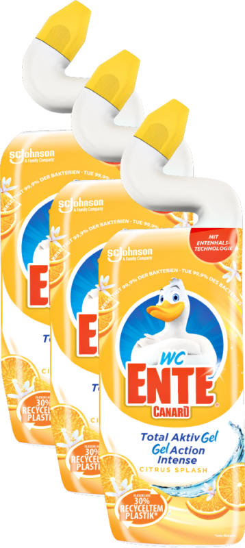 Gel Total Aktiv Anitra WC, Citrus Splash, 3 x 750 ml