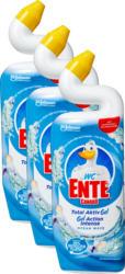WC-Ente Total Aktiv Gel , Ocean Wave, 3 x 750 ml