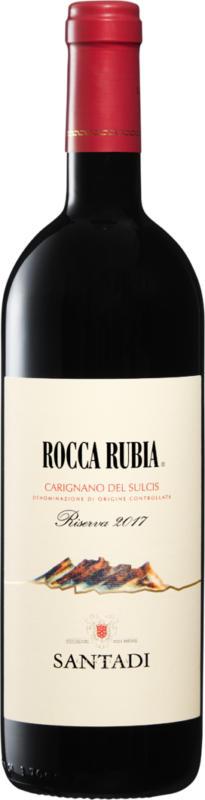 Rocca Rubia Carignano del Sulcis DOC Riserva, 2017, Sardinien, Italien, 75 cl