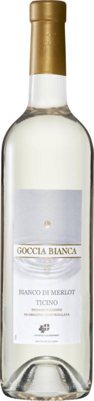 Goccia Bianca Bianco di Merlot del Ticino DOC, 2020, Tessin, Schweiz, 75 cl