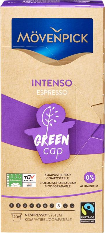 Mövenpick Kaffeekapseln Intenso Espresso, 20 Kapseln