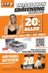 Lipo Eröffnung Interlaken - bis 27.03.2021