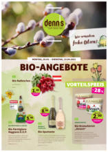 denn's Biomarkt Flugblatt gültig bis 13.4.