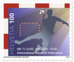 Die Post | La Poste | La Posta 75 Jahre IHF Internationale Handballförderation, Serie