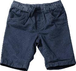 PUSBLU Kinder Shorts, Gr. 92, in Baumwolle, blau