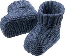 ALANA Baby Schuhe, 0-3 Monate, in Bio-Baumwolle, blau