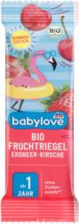 babylove Fruchtriegel Bio Fruchtriegel Erdbeer-Kirsche