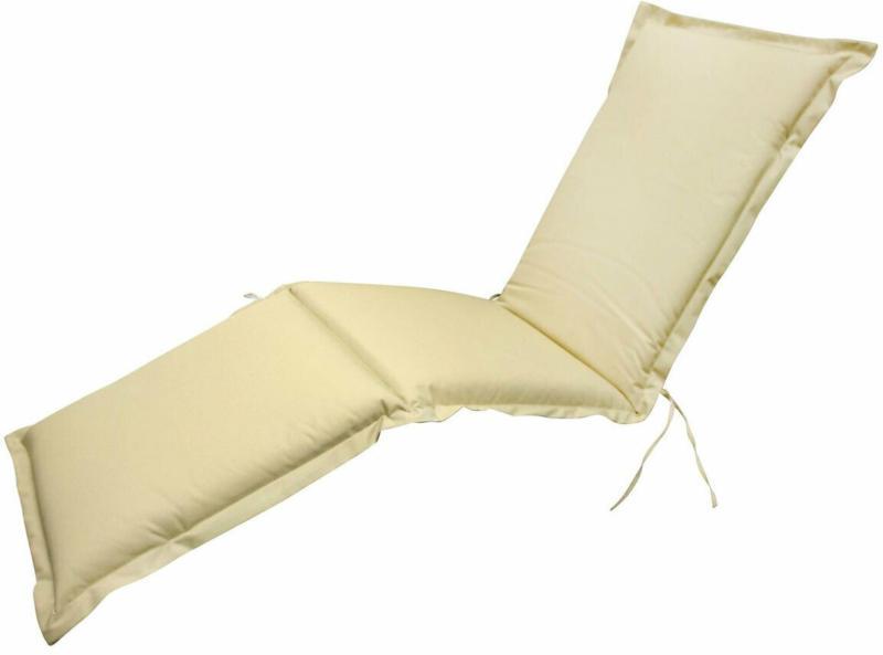 """Polsterauflage Deck Chair """"Premium"""", extra dick, Beige beige"""