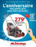 Mr Bricolage Array: Offre hebdomadaire - au 18.04.2021