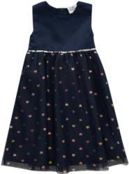 Festliches Mädchen Kleid mit Herzchen-Allover (Nur online)