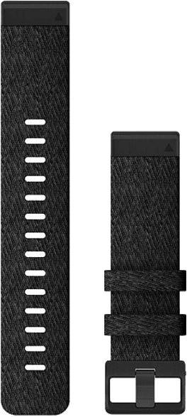 Quickfit Armband 22mm, Nylon Schwarz (010-12863-07)