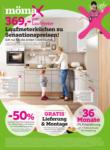 mömax Oberaich mömax Flugblatt - Laufmeterküchen zu Sensationspreisen! - bis 17.04.2021