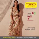 TAKKO Mattighofen Takko Fashion Flugblatt - bis 08.04.2021
