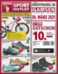 OTTO'S Sport Outlet Sport Outlet Angebote (Eröffnung Gamsen) - bis 25.04.2021