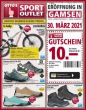 Sport Outlet Angebote (Eröffnung Gamsen)