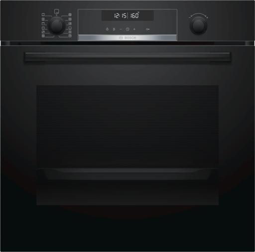 Bosch Serie | 6 Einbau-Backofen 60 x 60 cm Schwarz