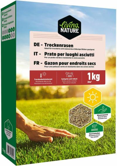 Living Nature Trockenrasen 1 kg