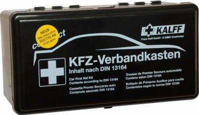 Kalff Kfz-Verbandkasten kompakt DIN 13164:2014 vollwertiges Erste-Hilfe-Set