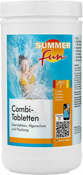 Summer Fun Desinfektion Combi Tabletten á 200 g 1,2 kg