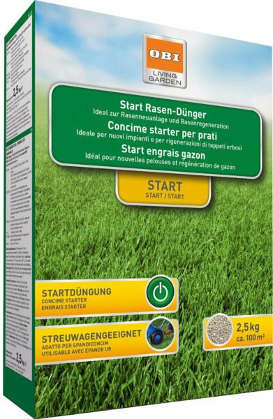 OBI Start Rasen-Dünger 2,5 kg