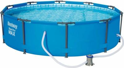 Bestway Stahlrahmen-Pool Set Ø 305 cm x 76 cm