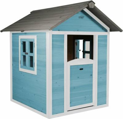 Spielhaus Lodge Caribean Blau/Weiß