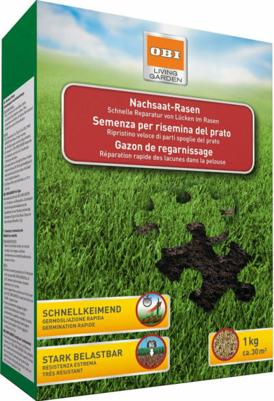 OBI Rasen-Nachsaat 1 kg