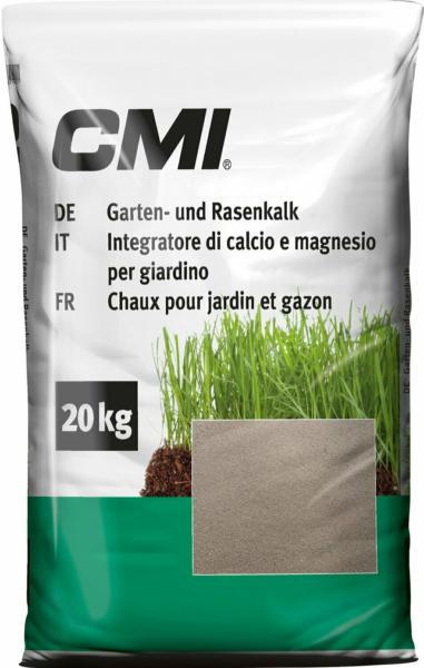 CMI Garten- und Rasenkalk Dolomitkalk 20 kg