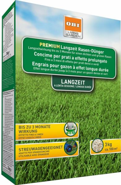 OBI Premium Langzeit-Rasendünger 3 kg