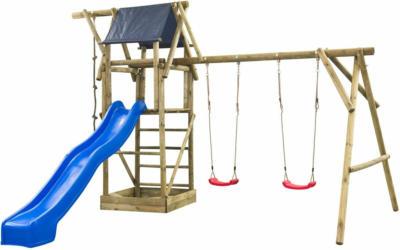 SwingKing Spielturm Nils 290 cm x 500 cm x 380 cm