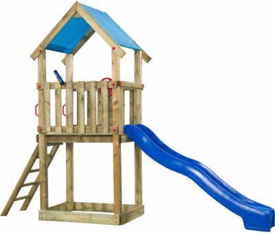 SwingKing Spielturm Lizzy 290 cm x 390 cm x 90 cm