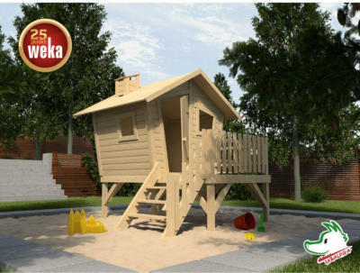 Tabaluga Abenteuerhaus Lotti mit Treppe und Terrasse