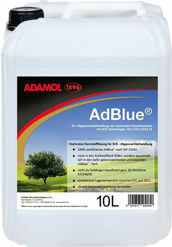 Adamol 1896 Adblue 10 l