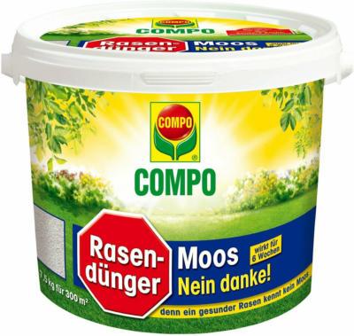 """Compo Rasendünger """"Moos - Nein danke!"""" 7,5 kg"""