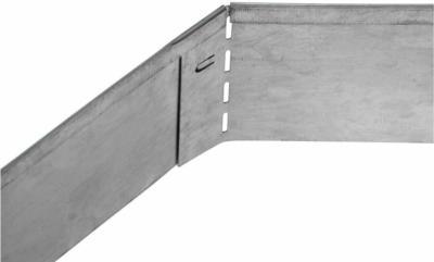 Bellissa Rasenkante Verzinkt 118 cm x 12,5 cm