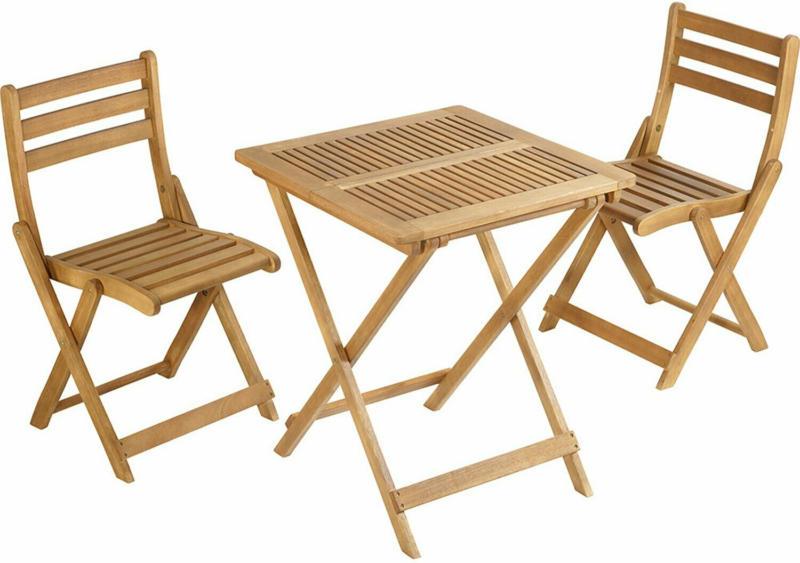 Balkonmöbel-Set Copland 3-teilig FSC® Holz Braun