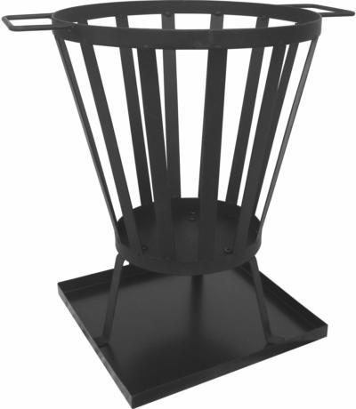 Feuerkorb 43 cm x 44 cm x 33 cm cm Metall