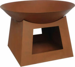 Feuerschale 41,5 cm x Ø 61,5 cm Stahl