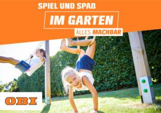 OBI: Spiel und Spaß im Garten